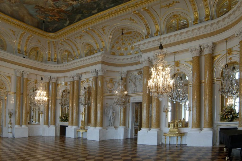 Großer Saal im Warschauer Königsschloss