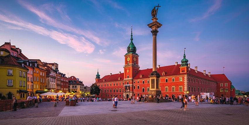 Königsschloss in der Warschauer Altstadt
