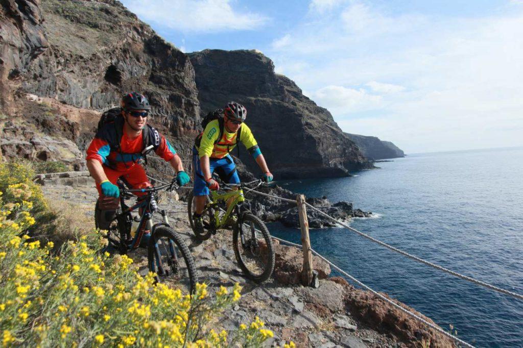 Mountainbike-Trail Küste La Palma