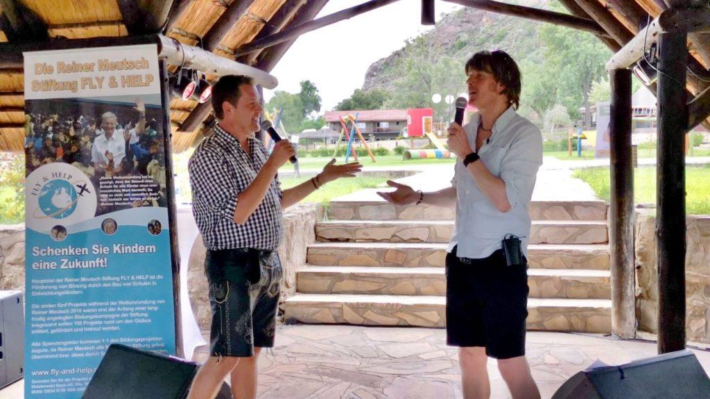 Peter Wackel und Mickie Krause Konzert Windhoek