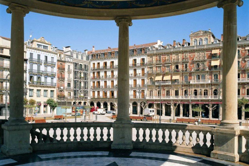 Plaza del Castillo in Pamplona