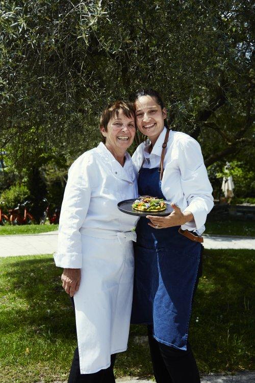 Reine & Nadia Sammut von der Auberge de la Fenière