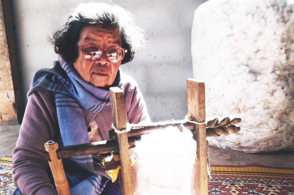 Tradition und Kultur des Baumwollwebens