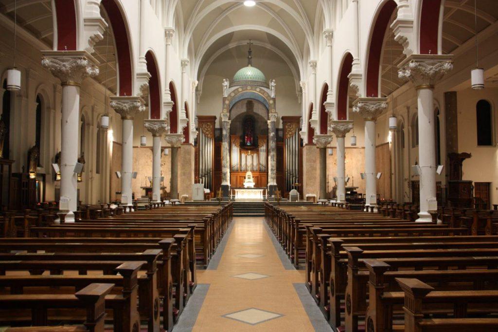 White Friar Church in Dublin von Innen