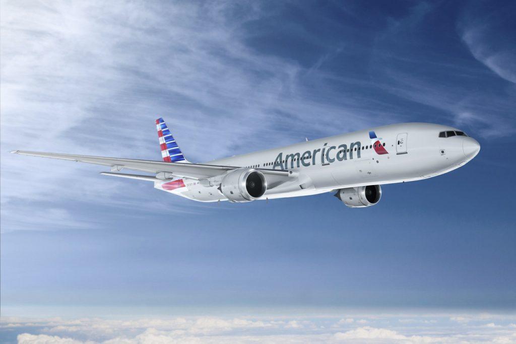American Airlines Boeing 777- 200