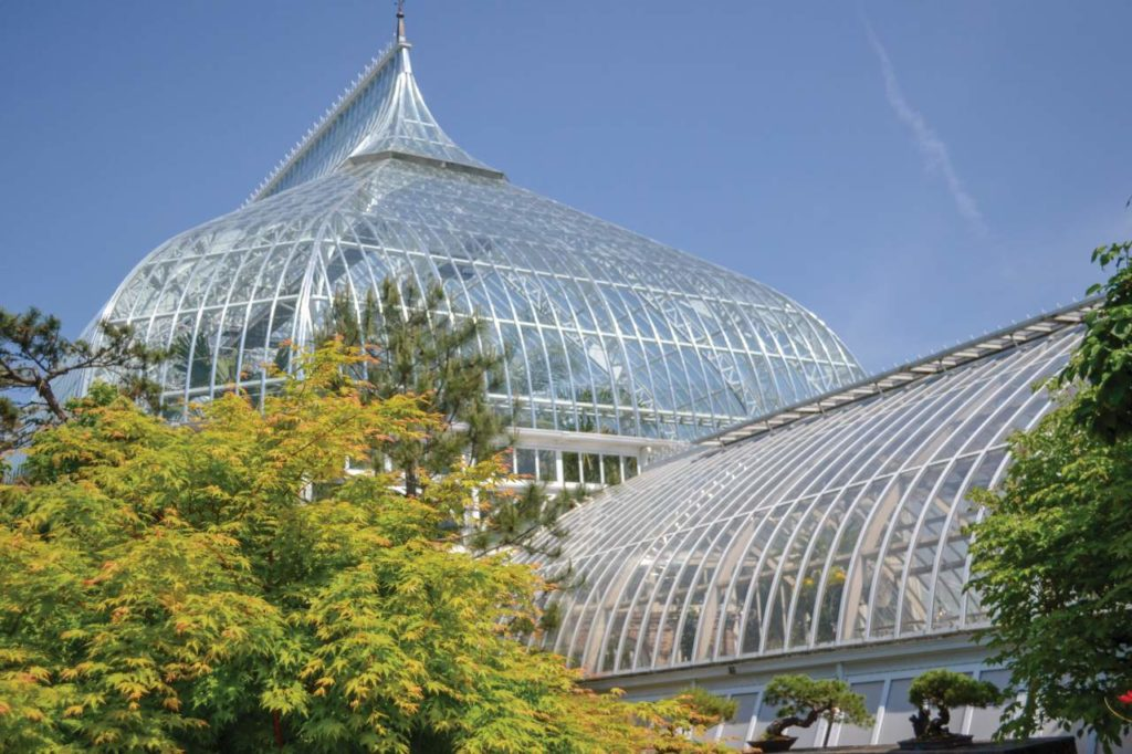 Botanischer Garten Pittsburgh von außen
