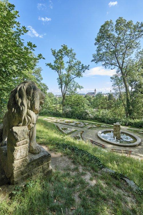 Bürgerpark Theresienstein in Hof