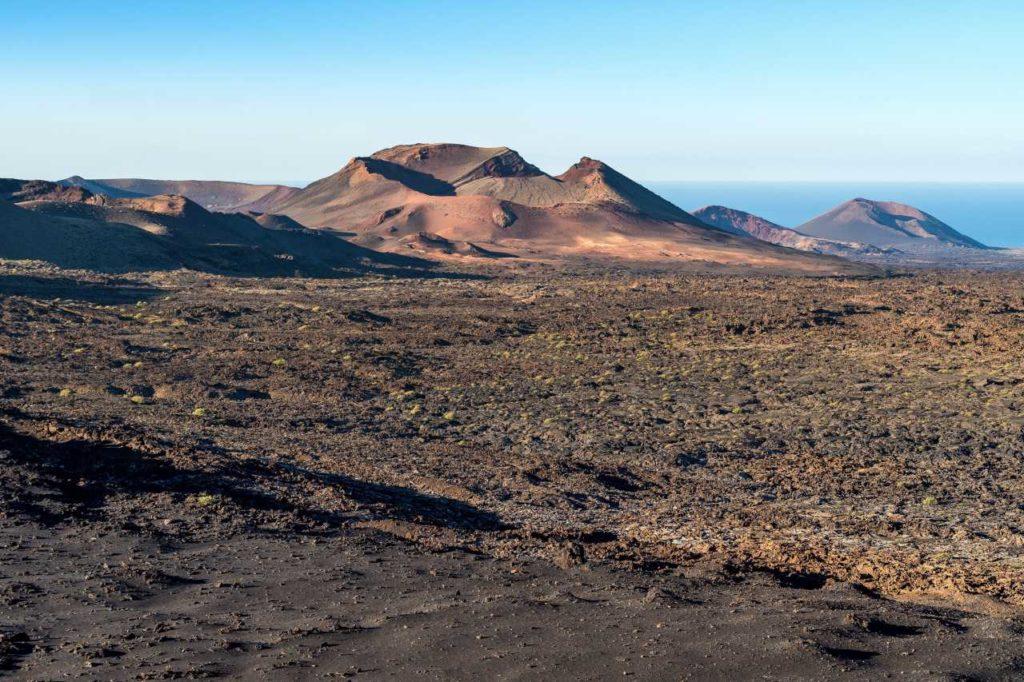 Feuerberge Vulkankrater Lanzarote