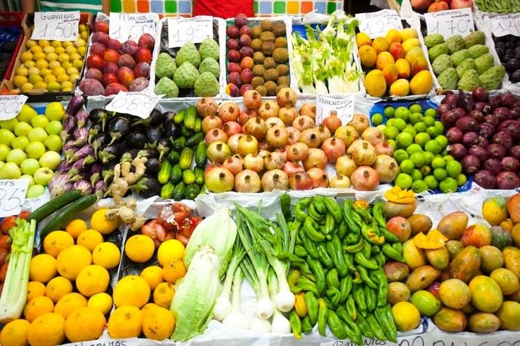 Früchte Markt Almunecar