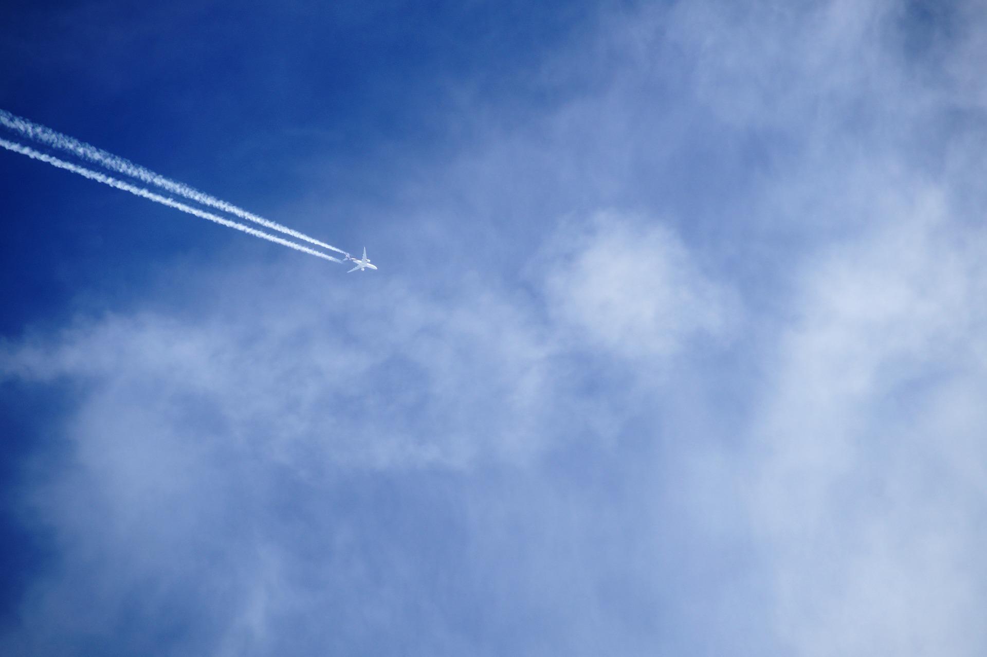 Klimafreundliche Flugrouten