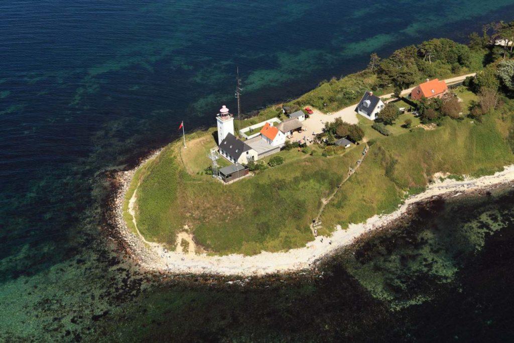 Leuchtturm von Røsnæs Seeland