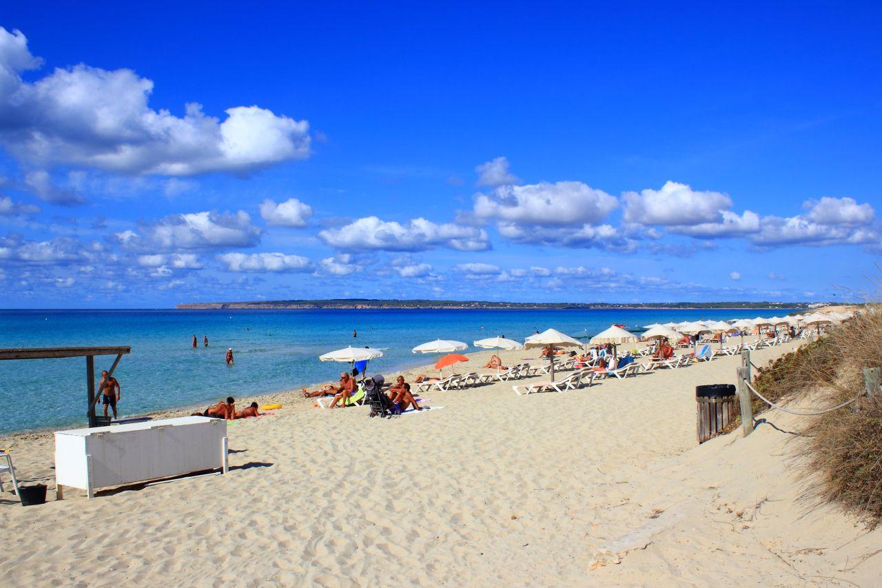 Playa Mitjorn Strand