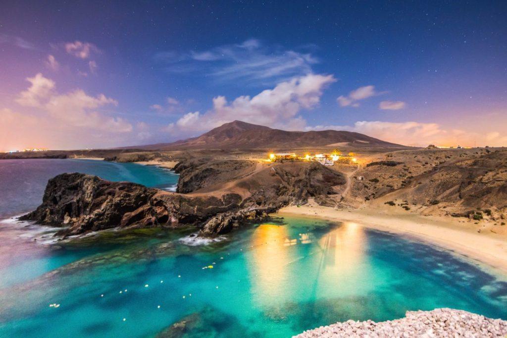 Playas de Papagayo Lanzarote