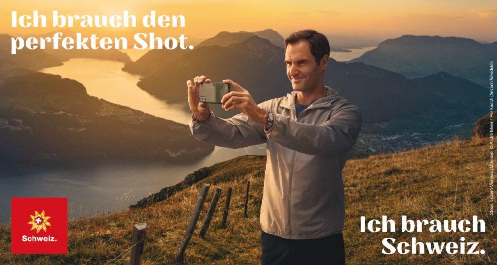 Roger Federer Luzern Vierwaldstättersee