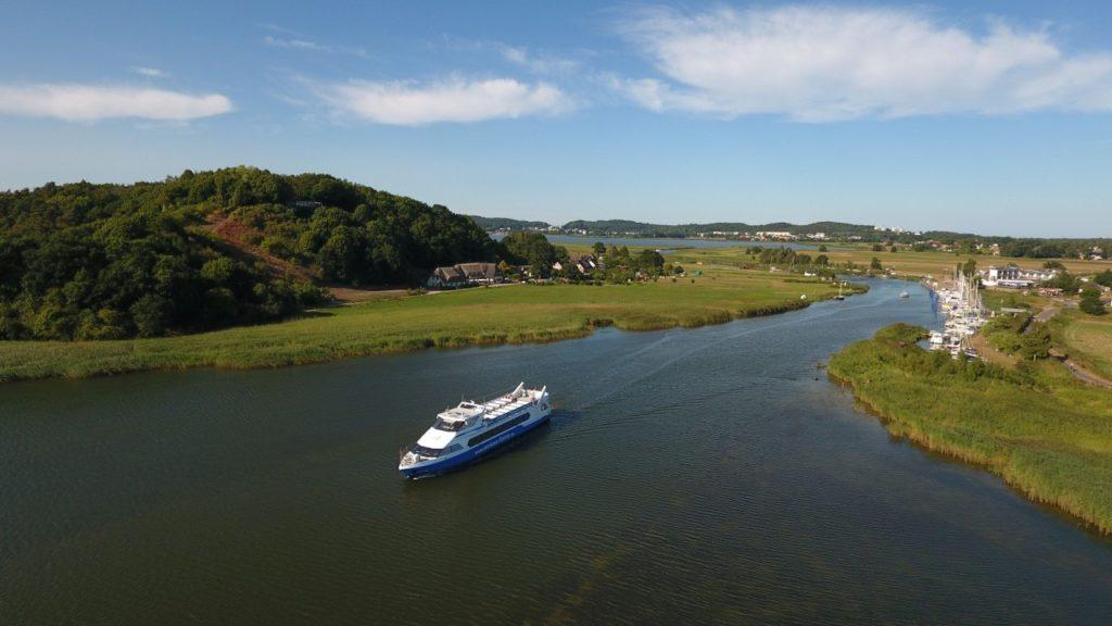 Schiff der Weißen Flotte GmbH bei Baabe