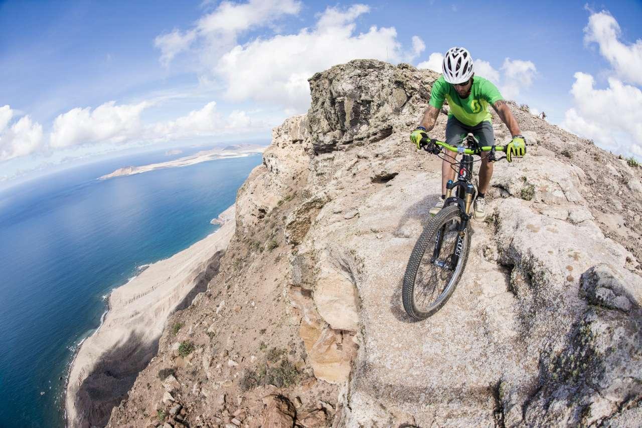 Spektakulärer MountainbikeTrail auf Lanzarote