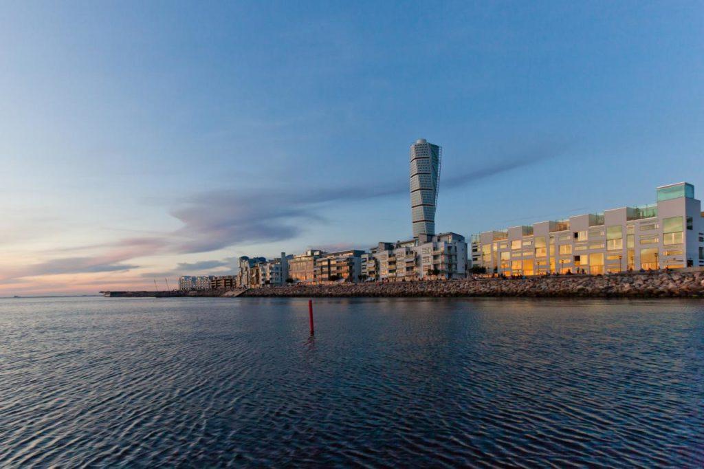 Stadtviertel Västra Hamnen Malmö