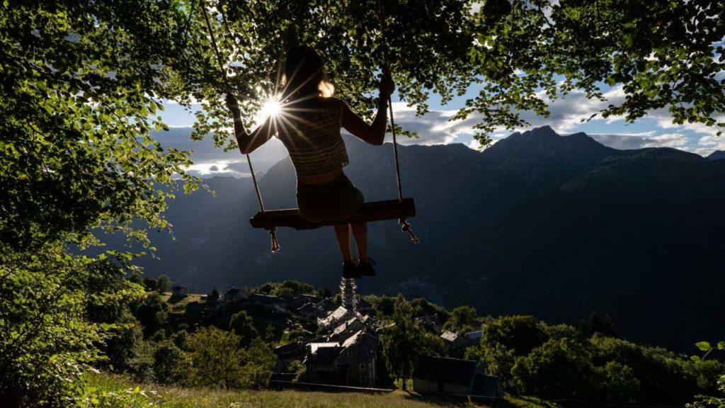 Swing the World Schaukel in Rasa