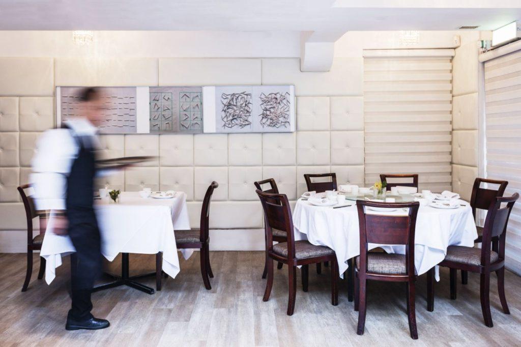 Tisch im The Chairman Hongkong