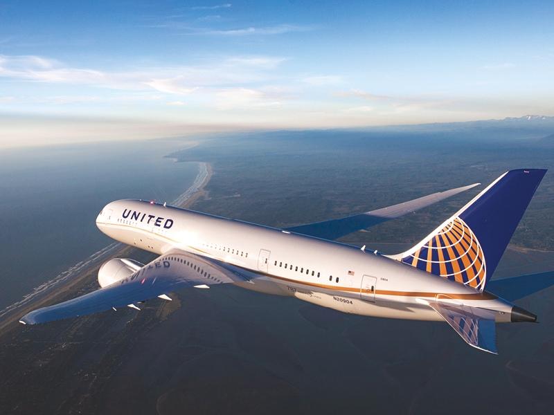 United Airlines B787 Dreamliner