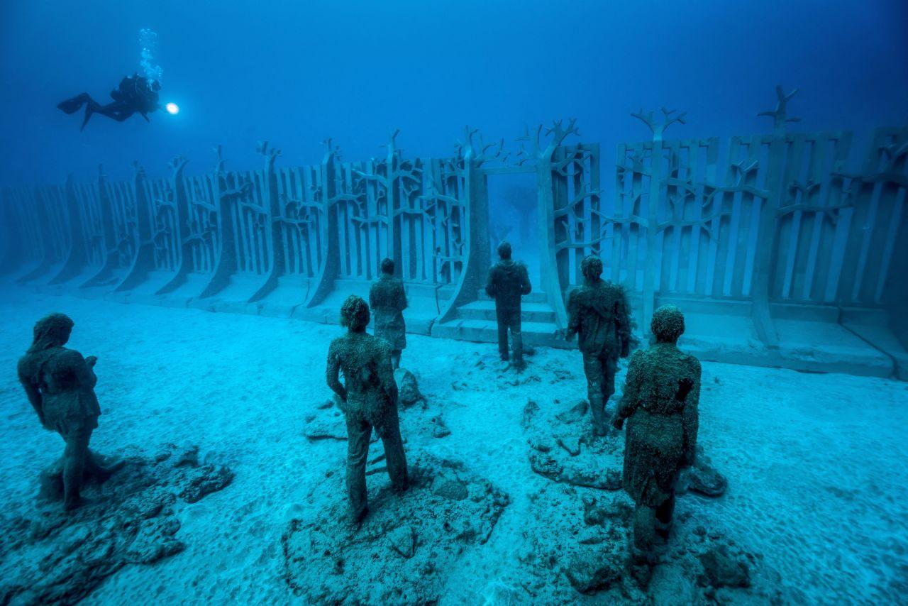 Unterwassermuseum vor Lanzarote