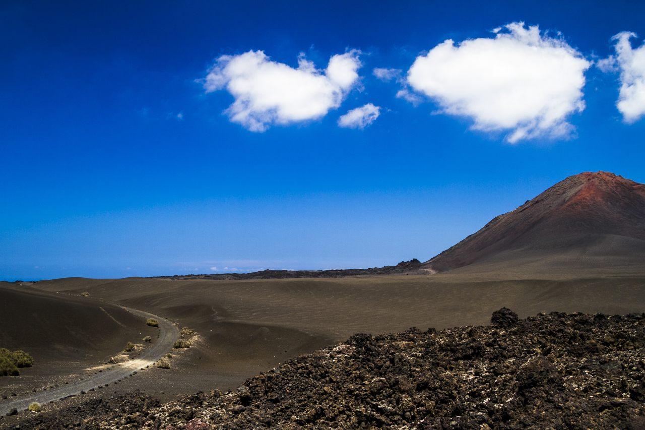 Vulkane und Lavalandschaft Nationalpark Timanfaya