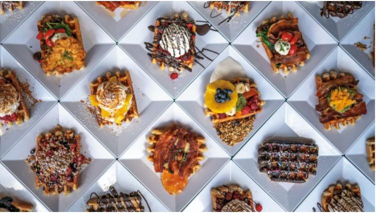 Waffelkreationen Restaurant Waffle Window Portland