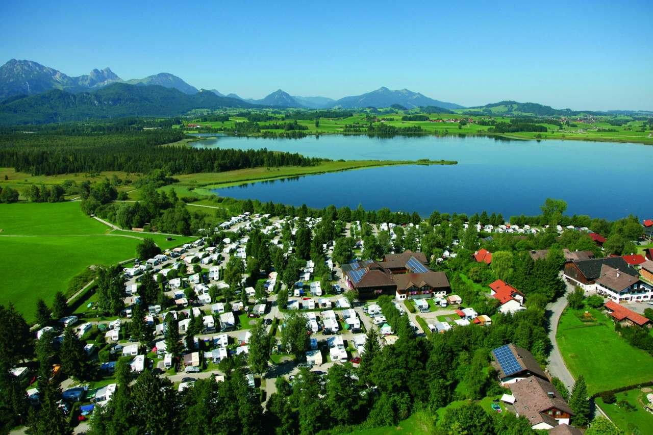 Camping Hopfensee in Füssen