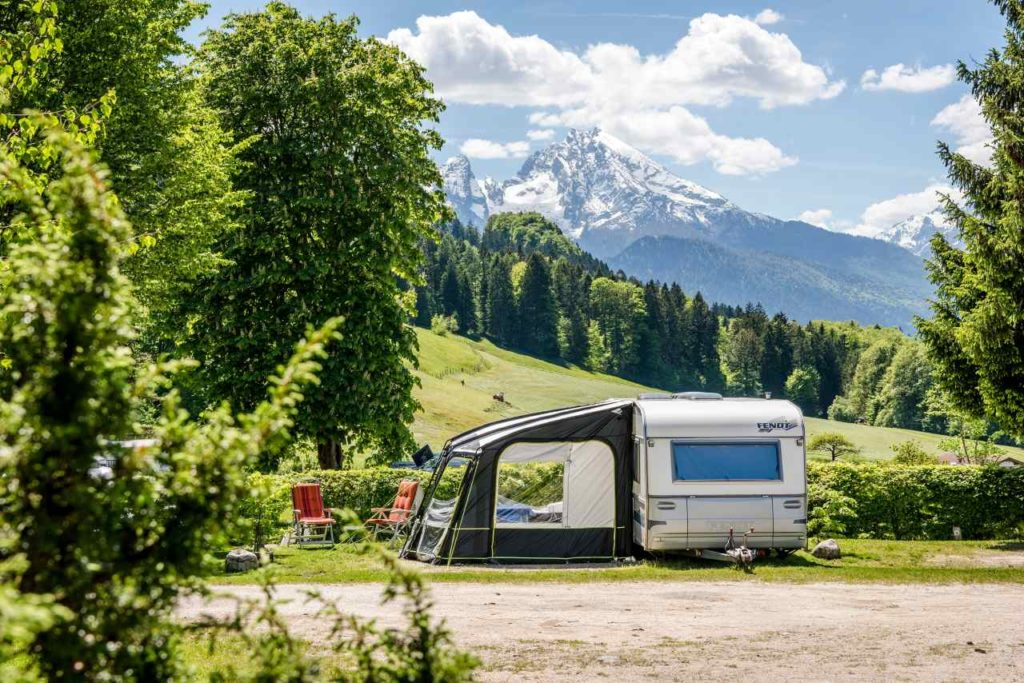 Camping-Resort Allweglehen Ausblick Berge