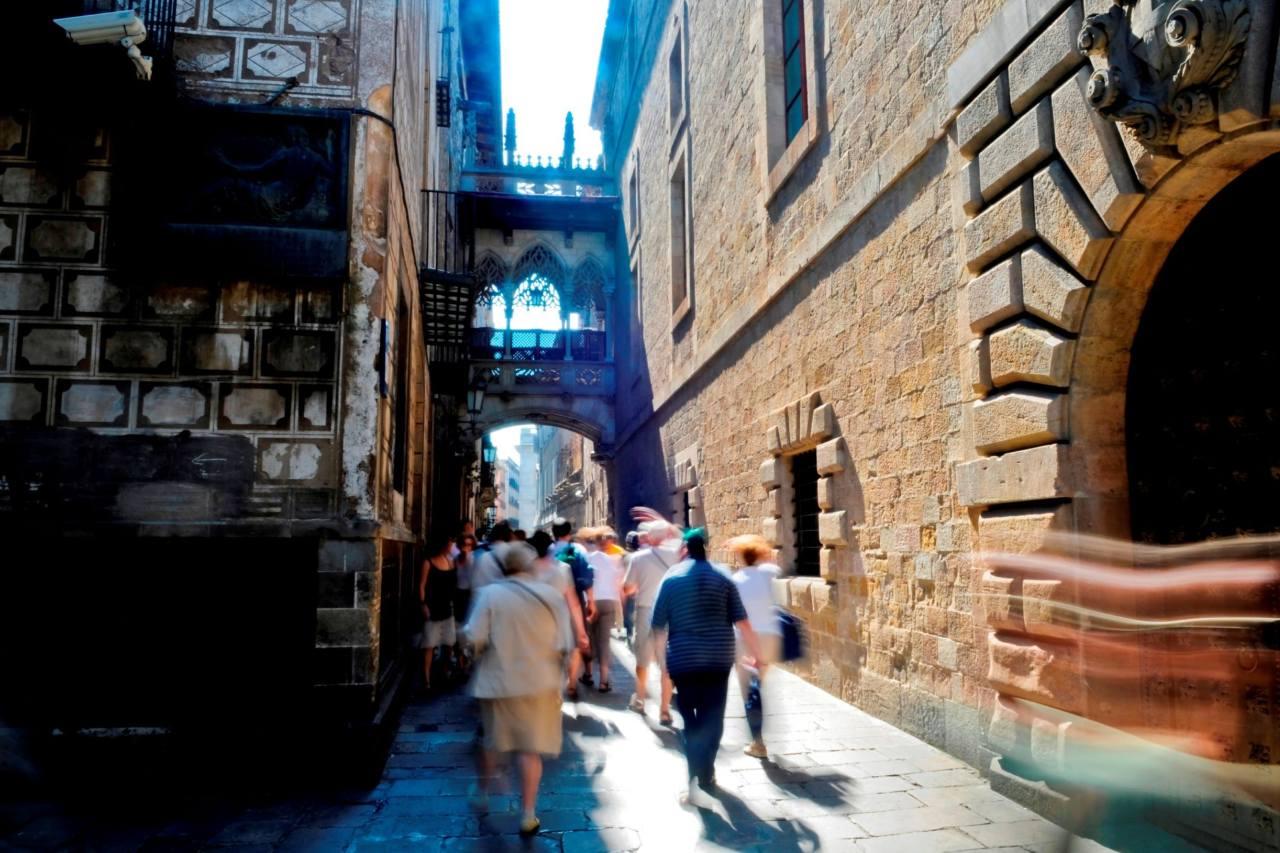 Carrer del Bisbe Barcelona Stadtführung