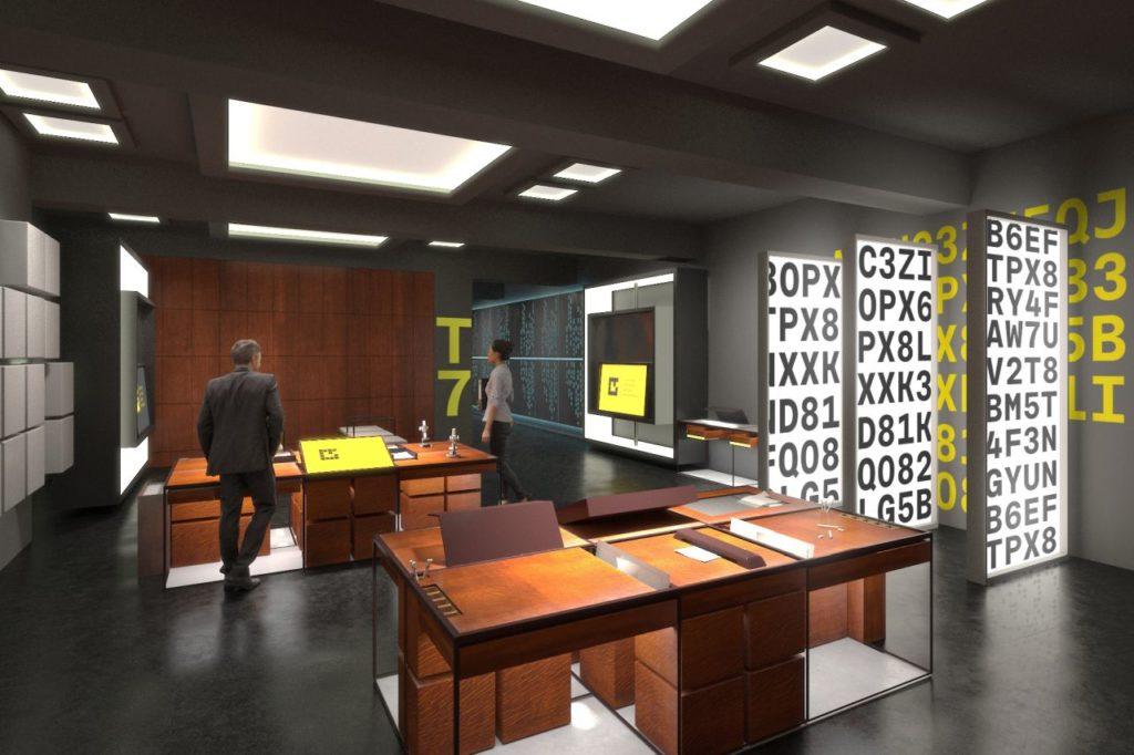 Enigma Code im Wissenschaftszentrum Posen