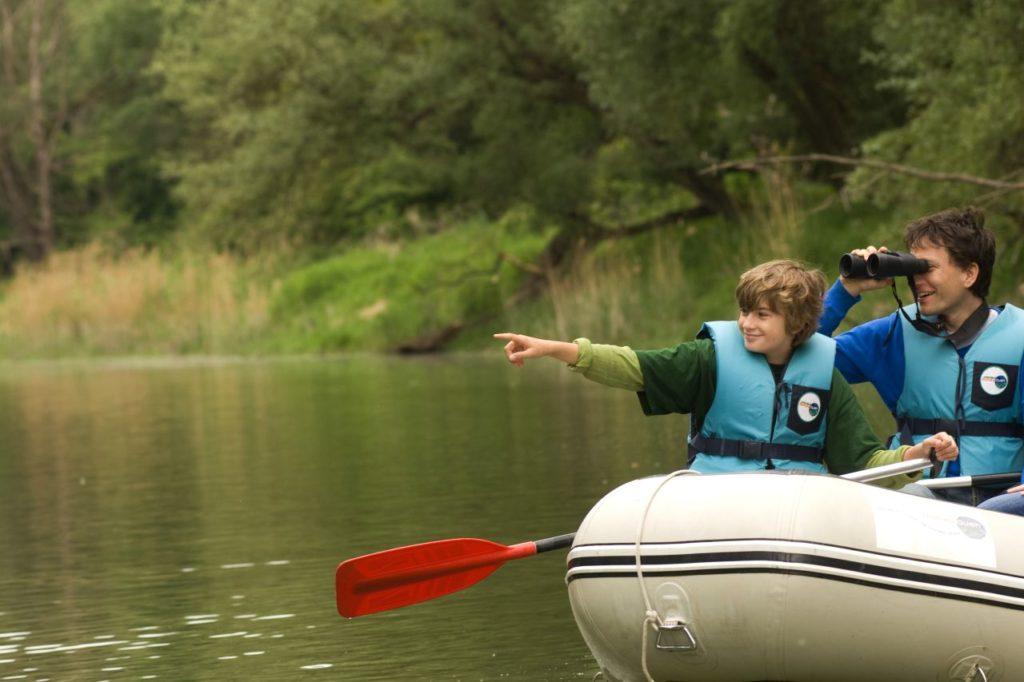 Floßfahrt mit Tierbeobachtung im Nationalpark Donauauen