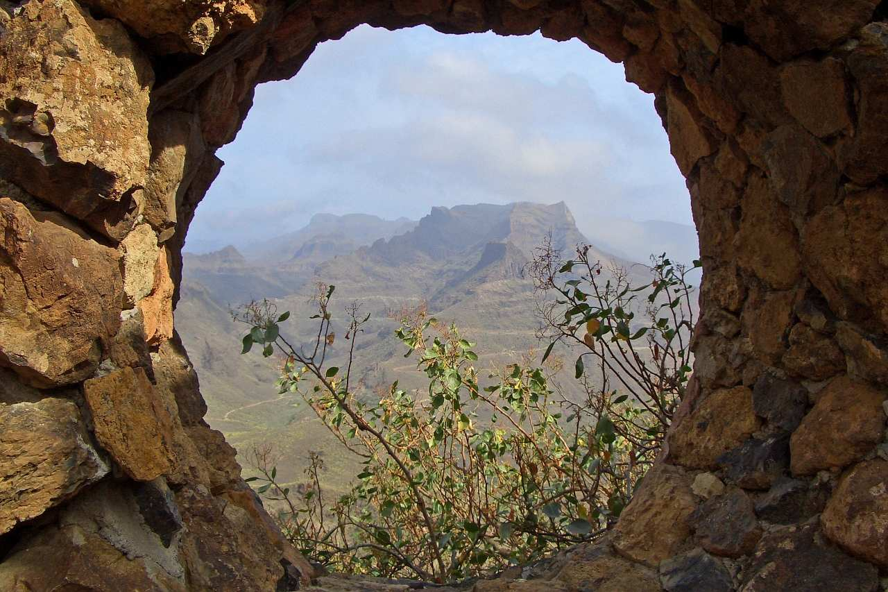 Gran Canaria bergiges Hinterland