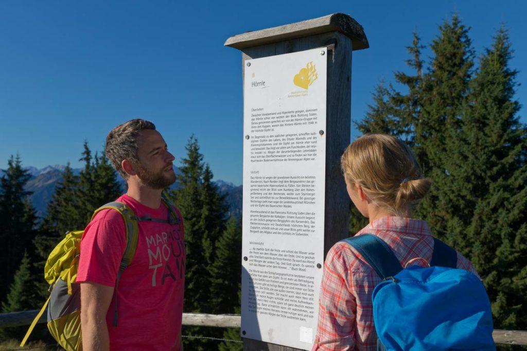 Mittleres Hörnle Meditationsweg Ammergau