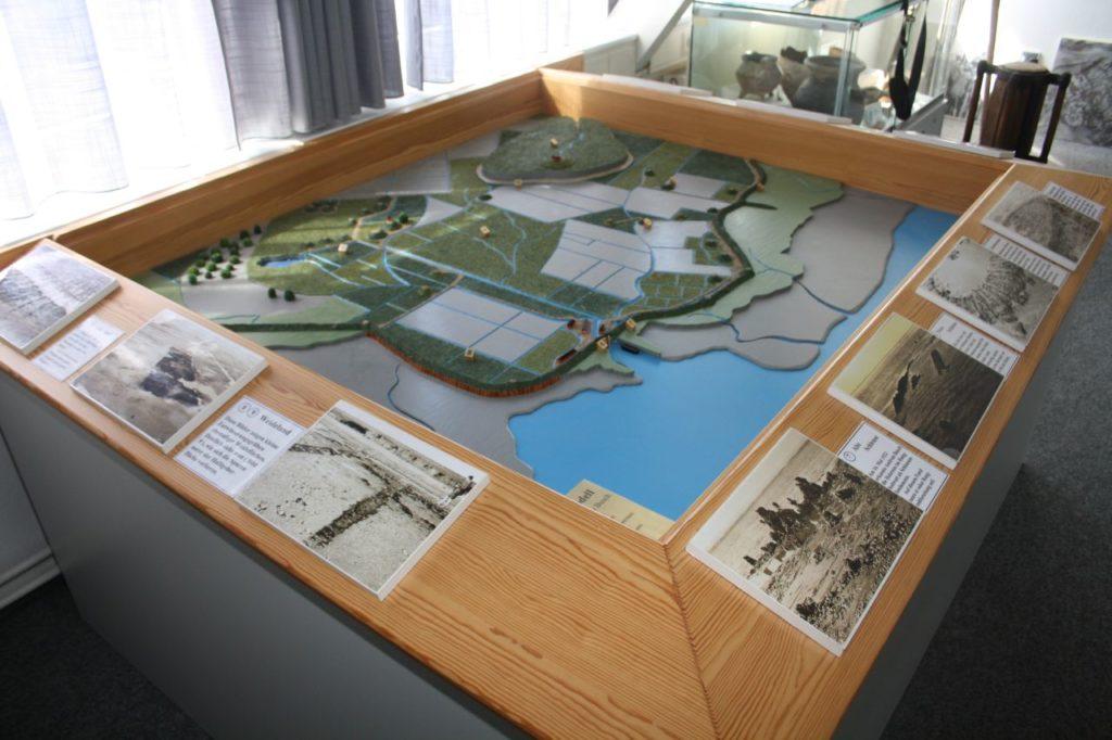 Modell des Ortes Rungholt