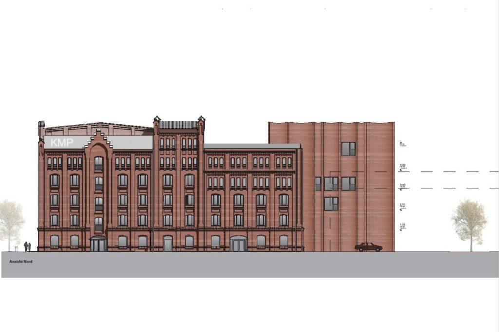 Planungsskizze Kulturmühle Parchim