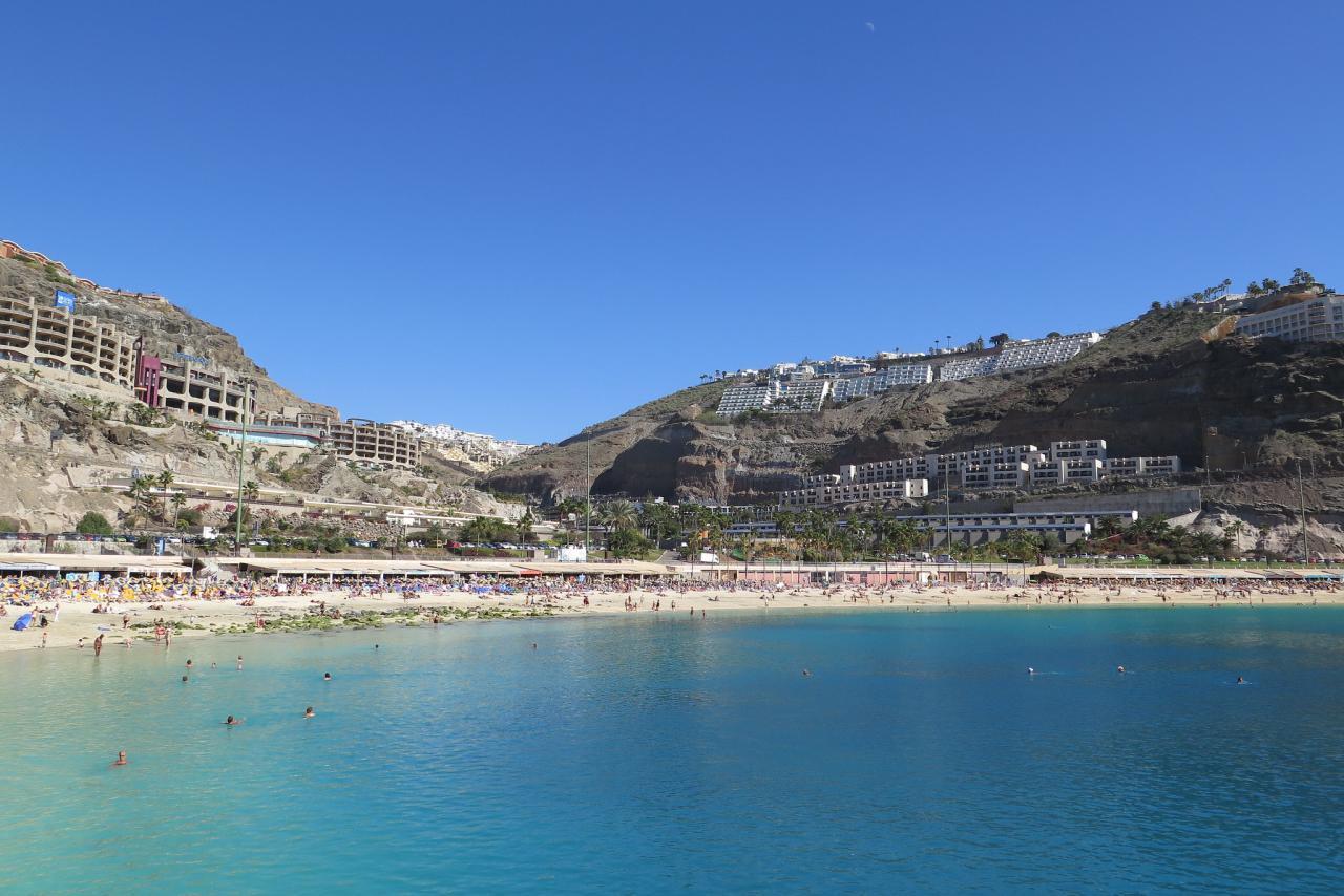 Playa de Amadores Strand