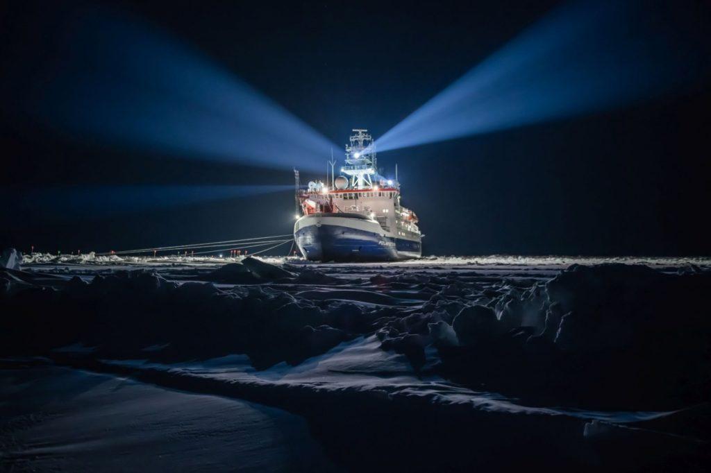 Polarstern– Forschungsschiff der MOSAiC-Expedition
