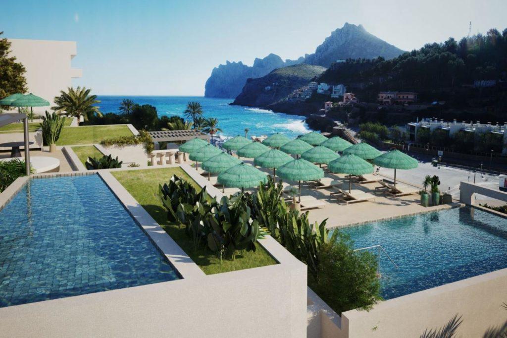 Poolbereich Hotel El Vicenç de la Mar Mallorca
