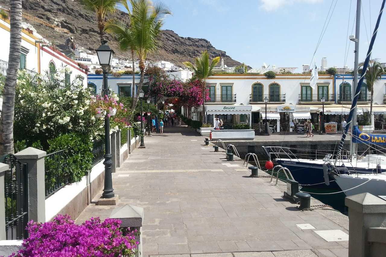 Puerto de Mogán Hafenpromenade