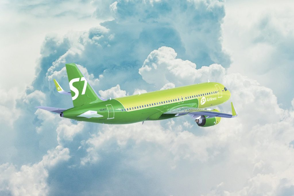 S7 Airlines Hannover-Moskau Domodedovo