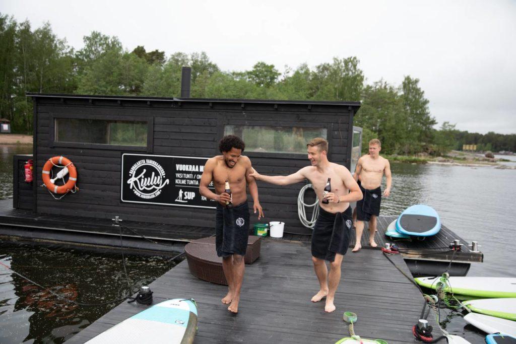 Saunaboot Tykkimäen Sauna