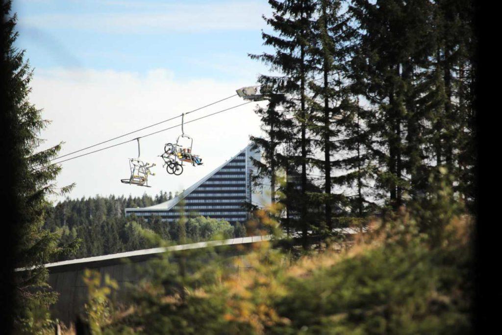 Sessellift Bike-Anlage Bikepark Oberhof