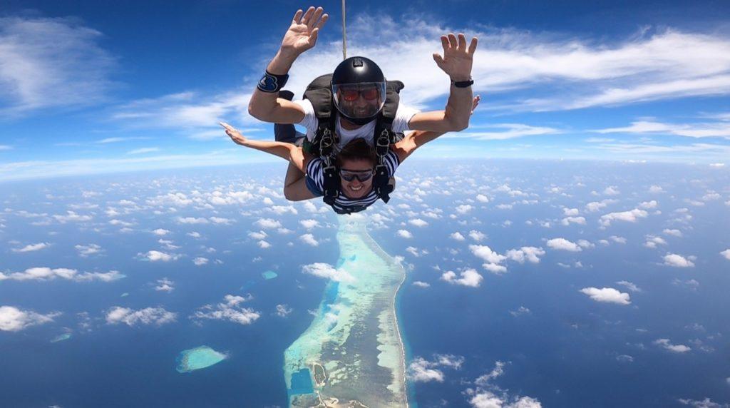 Skydiving Tandem The Nautilus Maldives