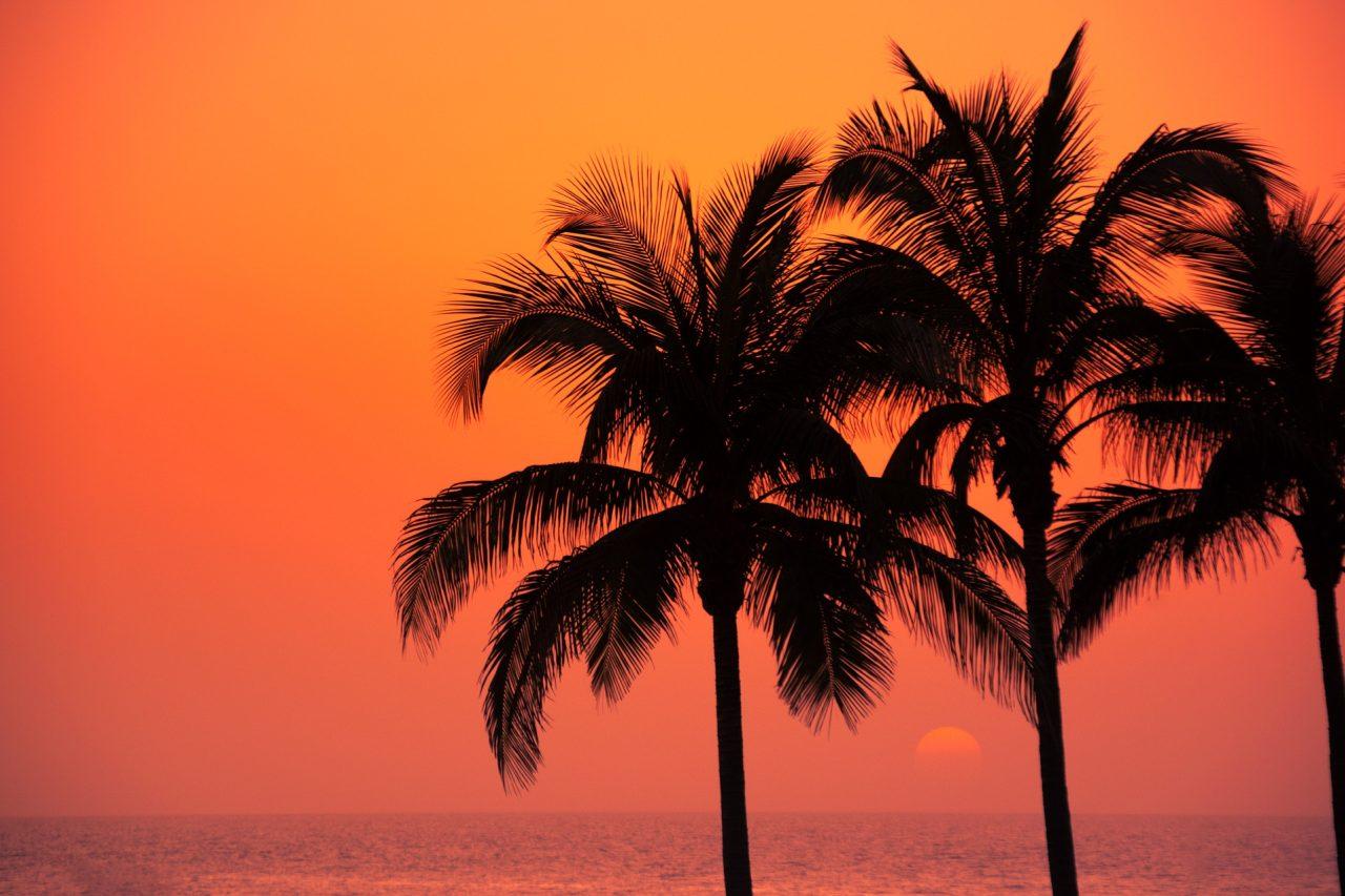 Sonnenuntergang Abendrot Gran Canaria
