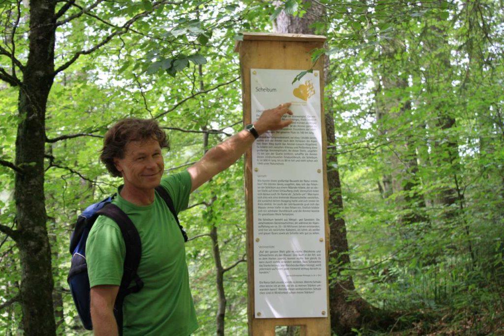 Wanderführer Norbert Parucha Meditationsweg Ammergau