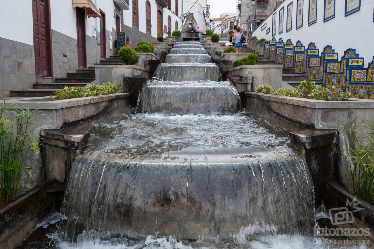 Wasserfall in Firgas Gran Canaria
