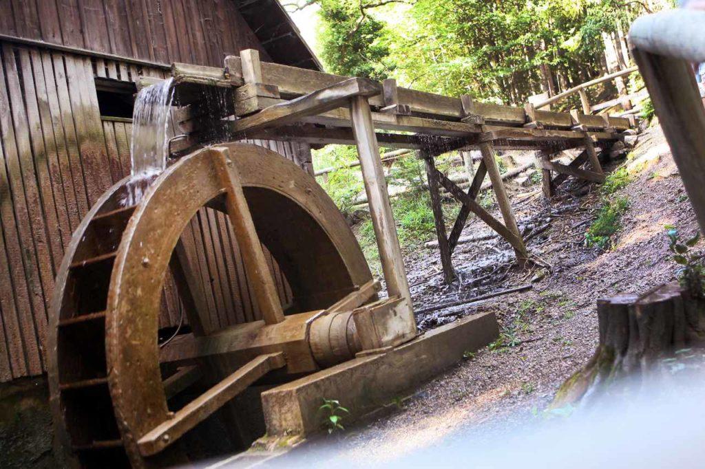 Wassermühle im Naturpark Sparbach