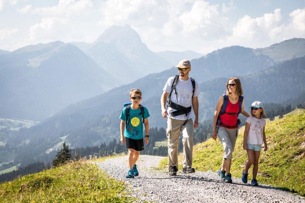 Weitwandern mit der ganzen Familie Kitzbüheler Alpen