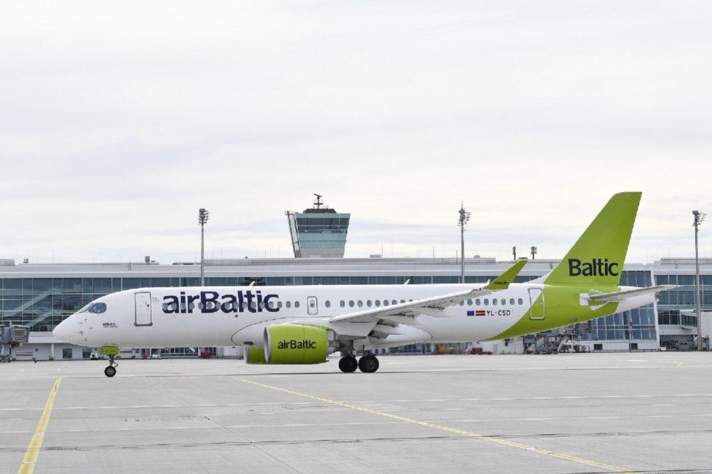 Air Baltic Flughafen München Baltikum